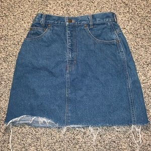 Vintage Denim Skirt Size S-M